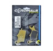 Cardinals Racing Replacement Front Brake Pads - Honda Wave 110