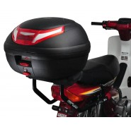 Givi HR3 Top Box Luggage Rack with Mounting Plate - Honda Cub C100
