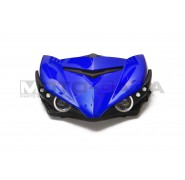 Angel Eye LED projector headlights - Yamaha T150