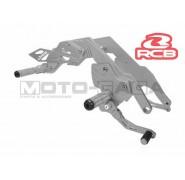 Racing Boy Adjustable Double Footrests/Rearsets - Honda RS150R/Winner/Supra/Sonic