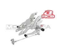 Racing Boy Adjustable Front Footrests/Rearsets - Suzuki Raider 150R