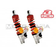 Racing Boy 380mm SB3 Dual Scooter Shock Absorbers - Universal/Honda/Yamaha