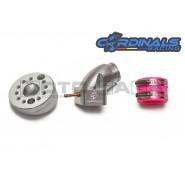 Cardinals Racing CNC Alloy 360 Rotatable Carburetor Manifold - Universal/KLX110/TTR110
