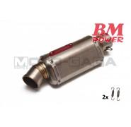 BM Power 4-Stroke Stainless Steel muffler box (TM)