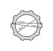 Faito Racing Clutch Plates - Yamaha T135 (4 Speed)