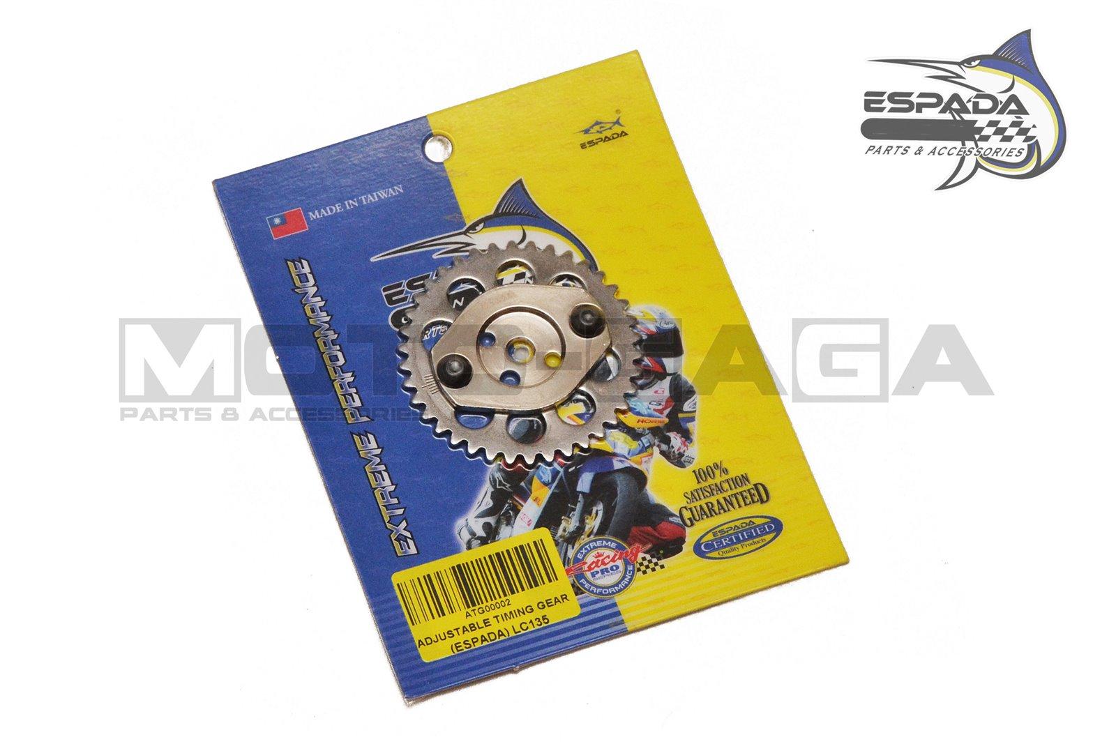 Espada Racing Adjustable Camshaft Timing Gear - Yamaha R15/Fz150i Vixion
