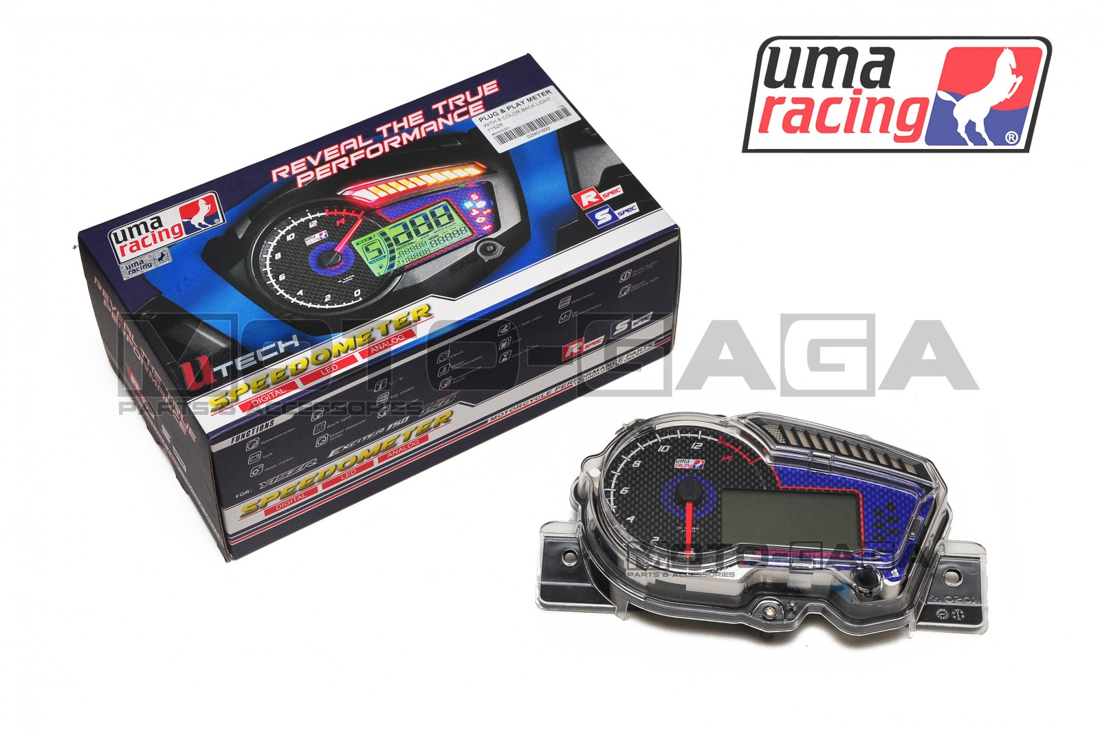 UMA Racing Custom Speedometer Assembly - Yamaha T150