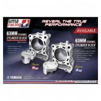 UMA Racing 63mm (183cc) Big Bore Cylinder Kit - Yamaha NVX/Aerox/NMAX 155
